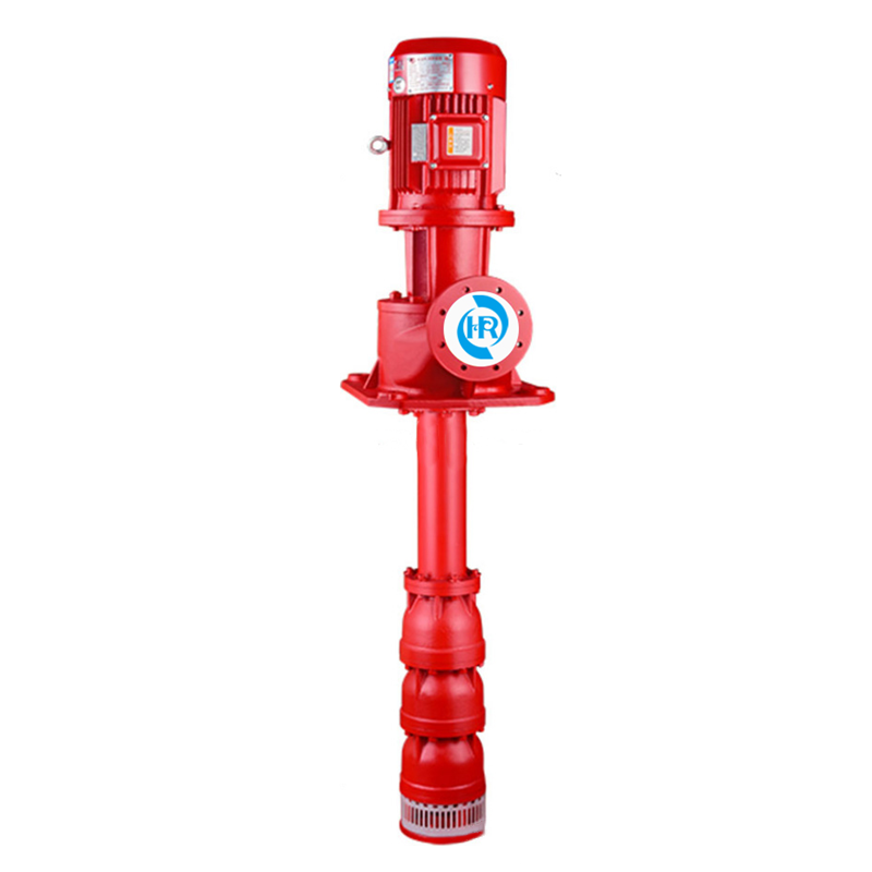 Long shaft fire pump